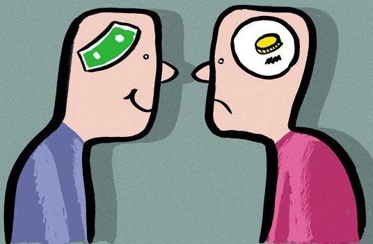 Мышление богатого и бедного — различия